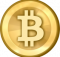 A shiny graphic of what a Bitcoin might look like, conceptually.