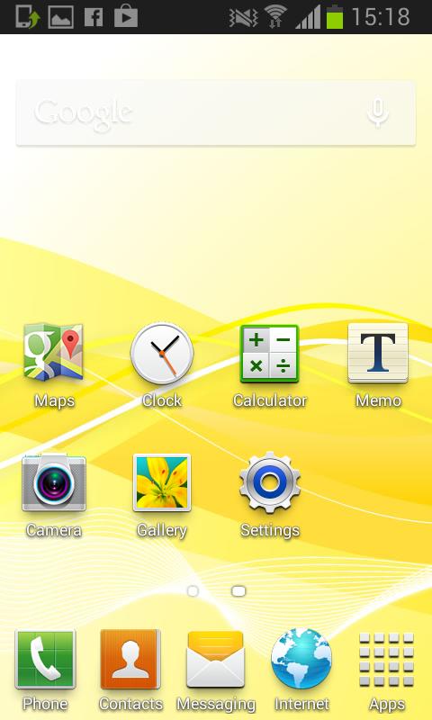 Ye olde Samsung home screen 1