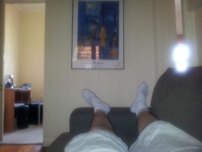 My feet circa Feb 2012